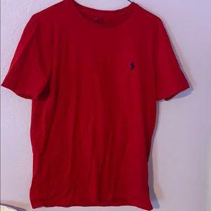 A Ralph Lauren Polo Red T-shirt